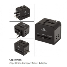 R250.00 An ingenious solution for travel adapters. 3 in 1!